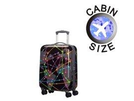 Mała walizka AMERICAN TOURISTER 03G*003 czarna world