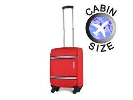 Mała walizka AMERICAN TOURISTER 75A*002 czerwona