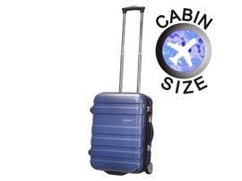 Mała walizka AMERICAN TOURISTER 76A*001 niebieska