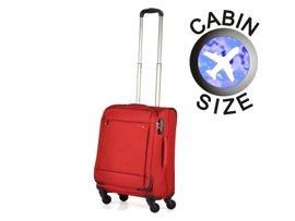 Mała walizka PUCCINI EM-50680 C czerwona
