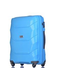 Średnia walizka PUCCINI PP011 B niebieski