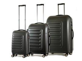 Zestaw trzech walizek WITTCHEN 56 3-553\552\551 grafitowy